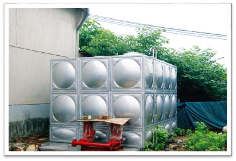 生产消防安全配备的40吨消防水箱